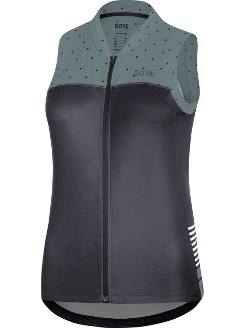GORE WEAR C5 Sleeveless Jersey Women black/nordic blue